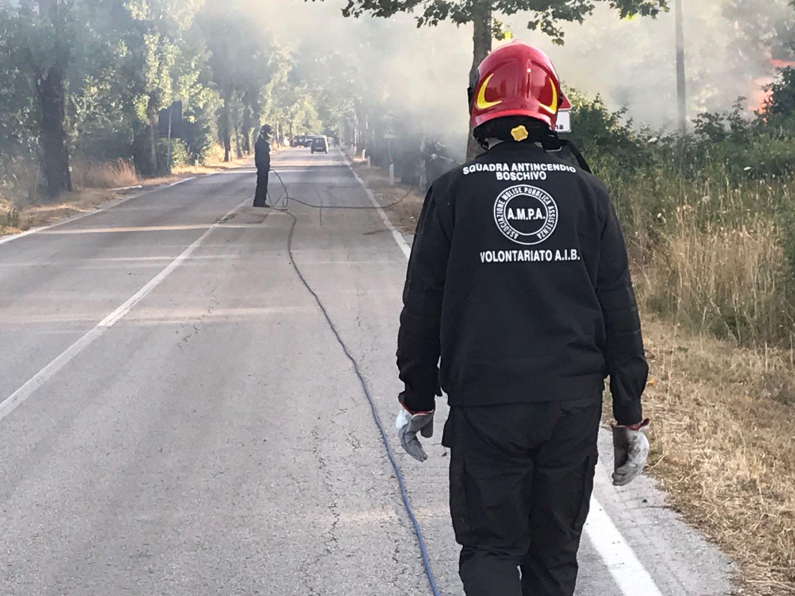 Ampa, servizio antincendio